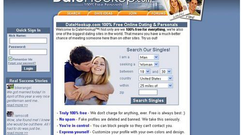No Cost Free Real Hookup Sites